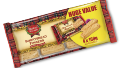 Campbells Scottish Shortbread Fingers 4x100g