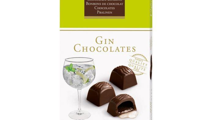 Cupido Belgium Chocolate Gin Chocolates 150g