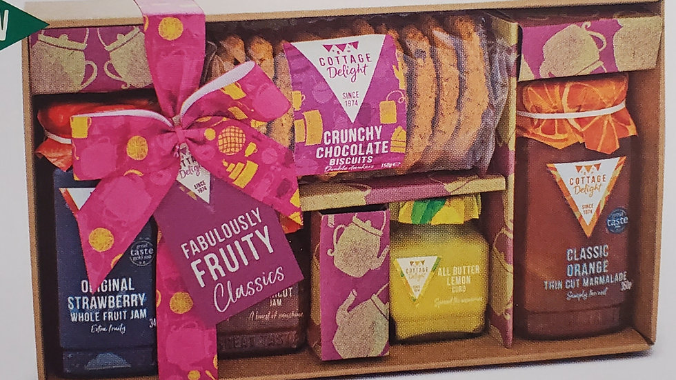 Cottage Delight Fabulously Fruity Classics Gift Hamper