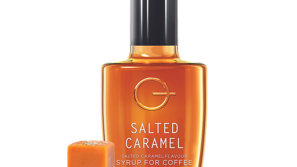 Quarterpast Salted Caramel Syrup for Coffee 250g