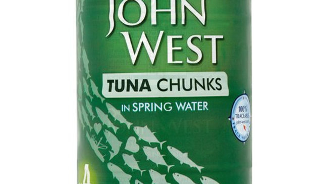 John West Tuna Chunks in Spring Water Multipack (4 Pack)