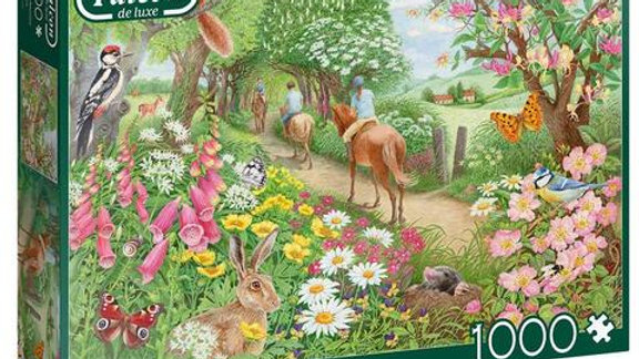 """Falcon de luxe Jigsaw Puzzle """"An Afternoon Hack"""" 1000 piece"""