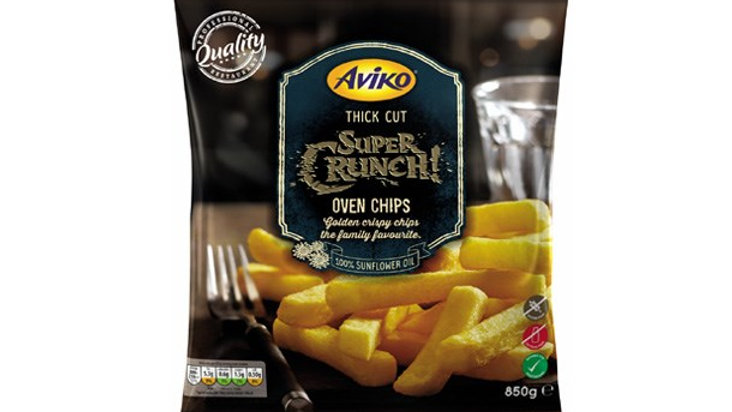 Aviko Thick Cut Supercrunch Oven Chips 850g