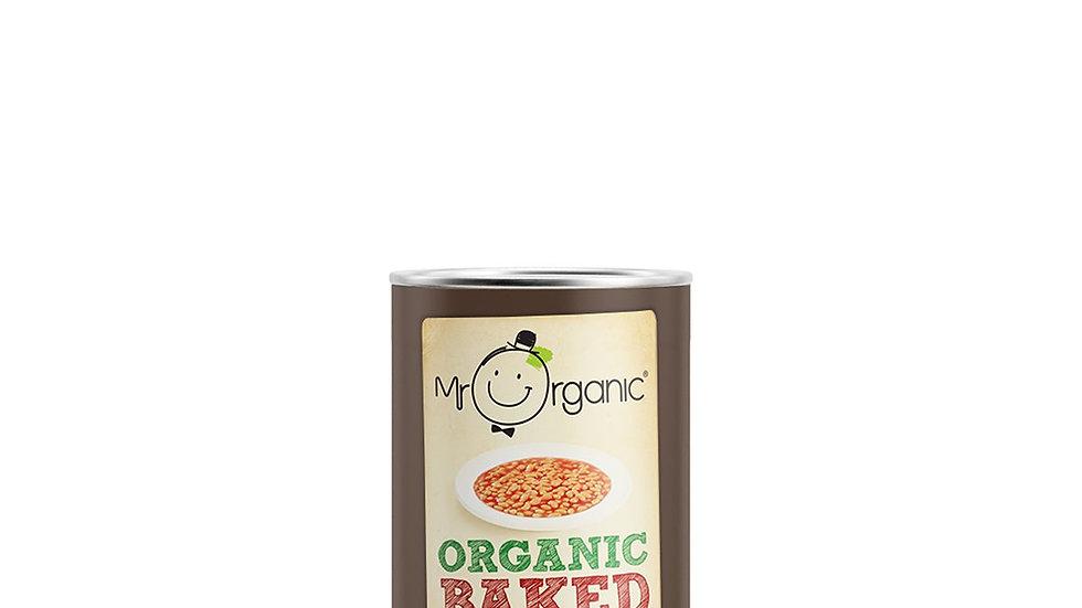 Mr Organic Baked Beans in Tomato Sauce 400g