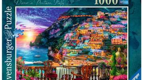 Ravensburger Jigsaw Puzzle 1000 Piece - Dinner In Positano