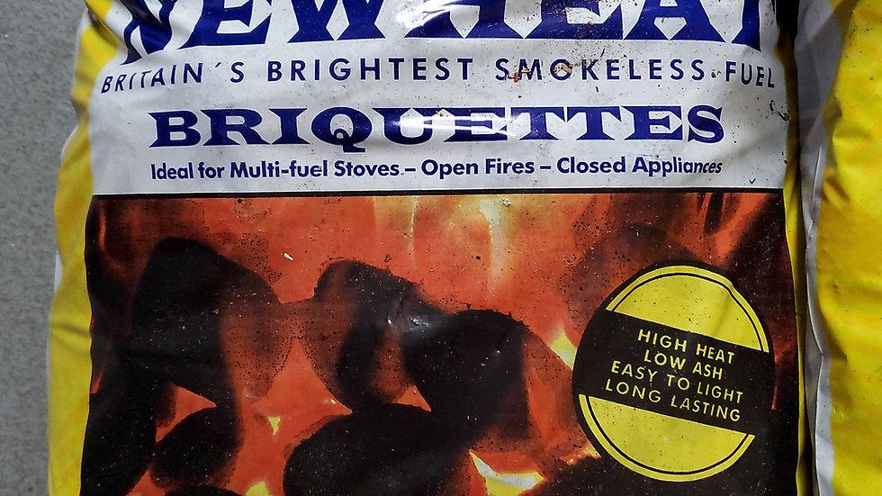 Newheat Briquettes Smokeless Coal 20kg