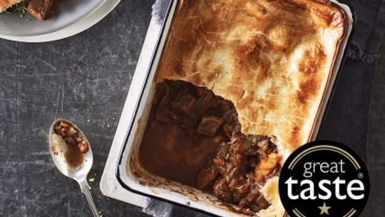 Cook Steak & Red Wine Pie 4 Portion Ready Meal