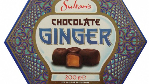 Sultans Dark Chocolate Covered Ginger 200g