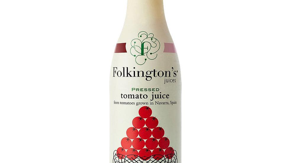 Folkingtons Pressed Tomato Juice 1lt