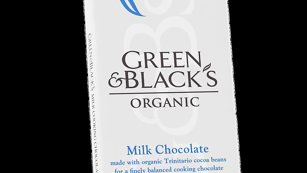 Green & Black's Organic Cooking Chocolate 150g