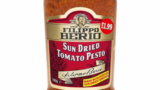 Filippo Berio Sundried Tomato Pesto 190g PM£1.99