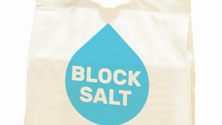 Harvey Kinetico Block Salt for all Block Salt Water Softener (2x4kg Pack)