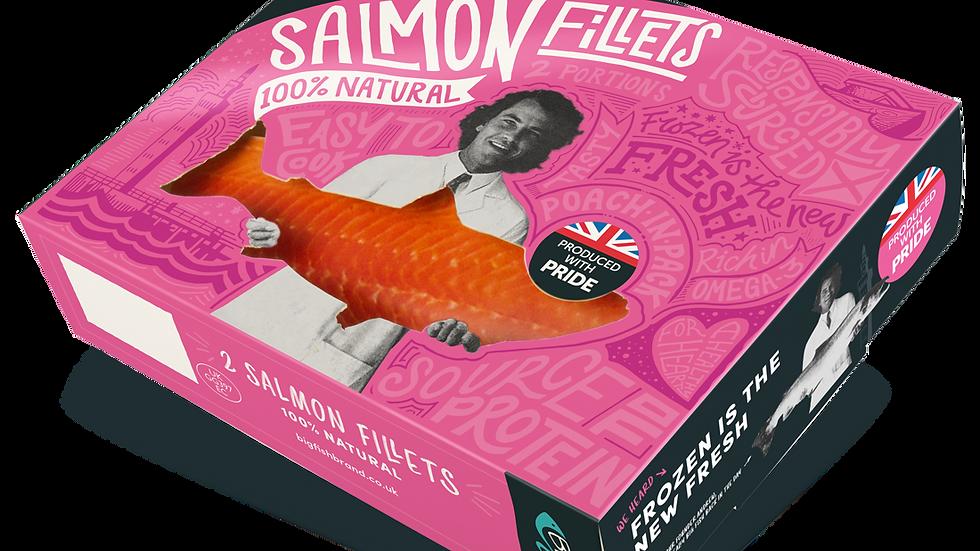 Big Fish 100% Natural Salmon Fillets (2 portions) 250g