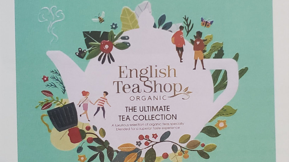 English Tea Shop Organic Ultimate Tea Collection Gift Tin