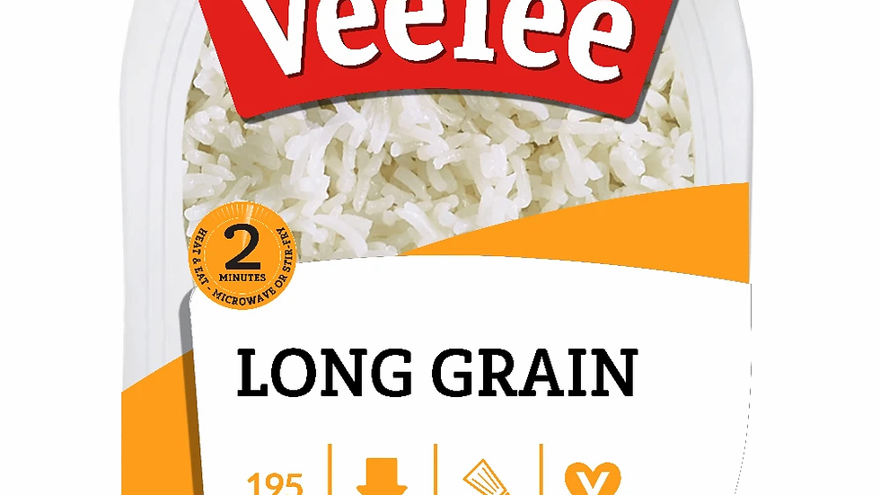 Veetee Microwavable Rice Long Grain
