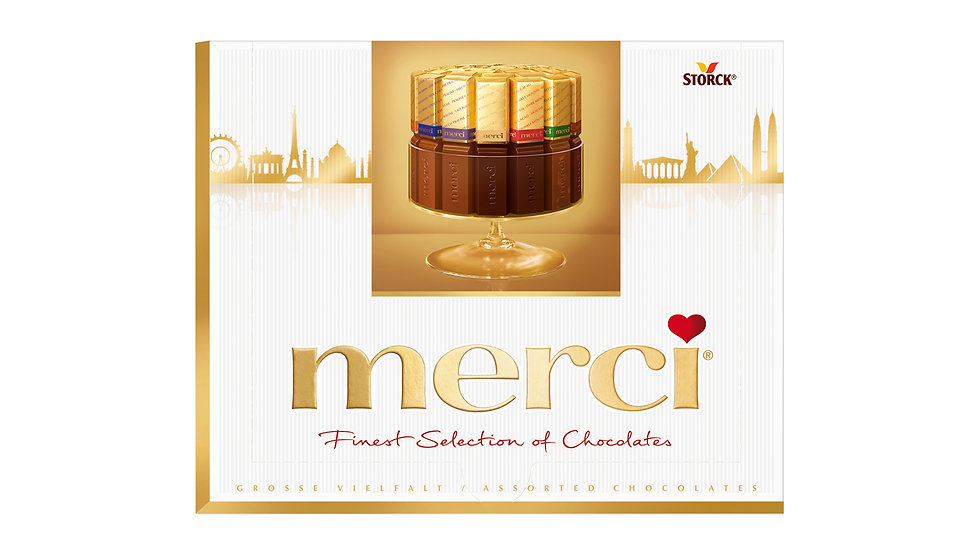 Merci Assorted Chocolates (Skyline Pack) 250g