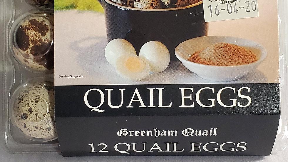 Greenham Quail Eggs (12 Pk)