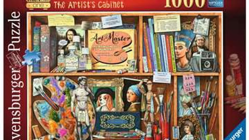 Ravensburger Jigsaw Puzzle 1000 Piece - The Artist's Cabinet