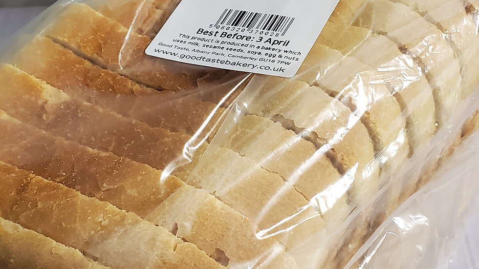 Good Taste Large White Sandwich Loaf Sliced