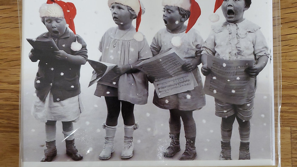 Almanac Gallery Charity Christmas Cards 8 Pack - Silent Night, Holy Night