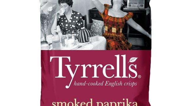 Tyrrells Potato Crisps Smoked Paprika 150g