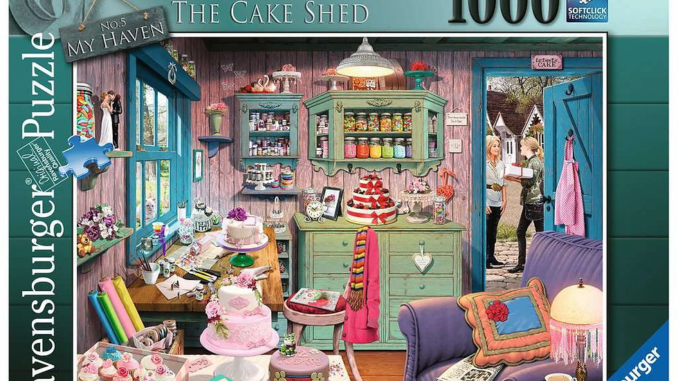Ravensburger Jigsaw Puzzle 1000 Piece - The Cake Shed