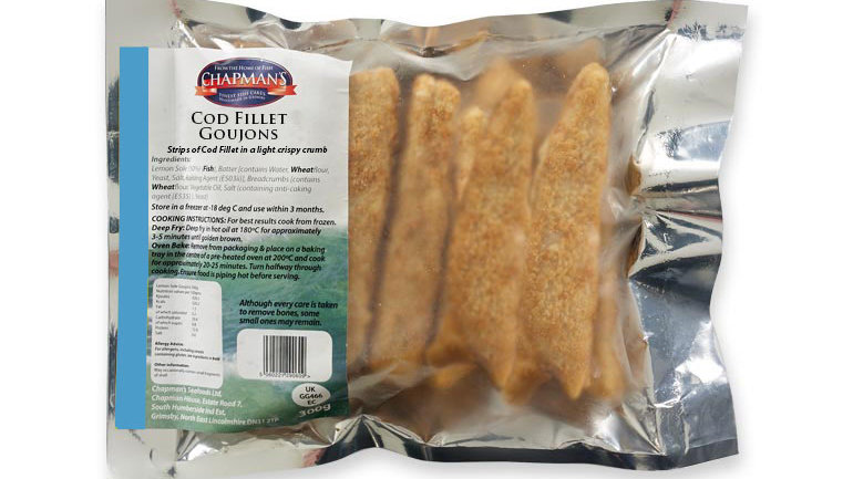 Chapman Cod Fillet Fish Goujons