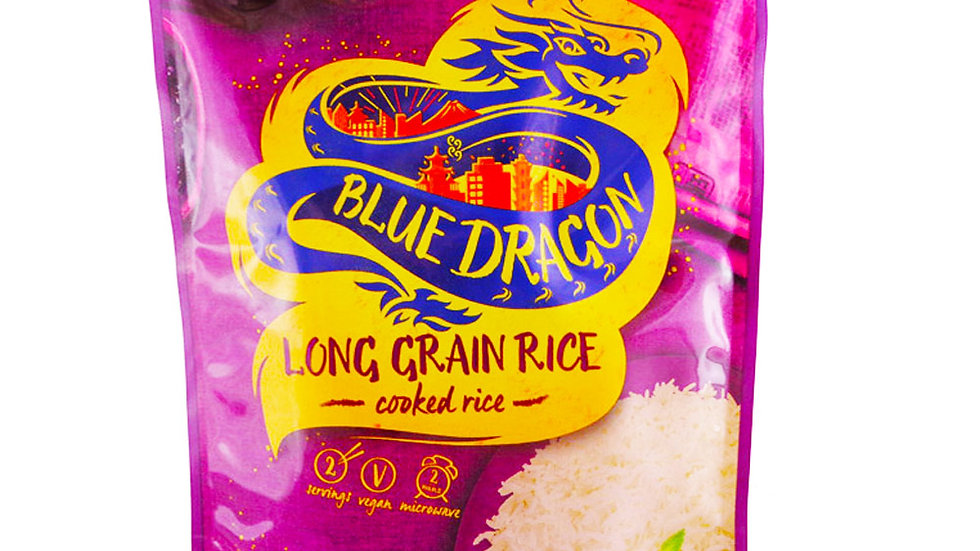 Blue Dragon Microwave Cooked Long Grain Rice