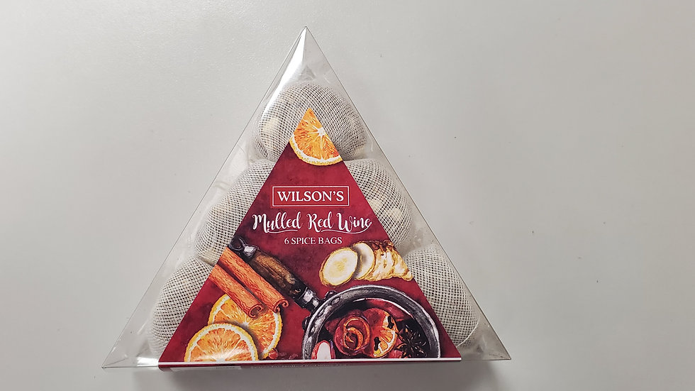 Wilsons Mulled Red Wine  Spice Bags 25g