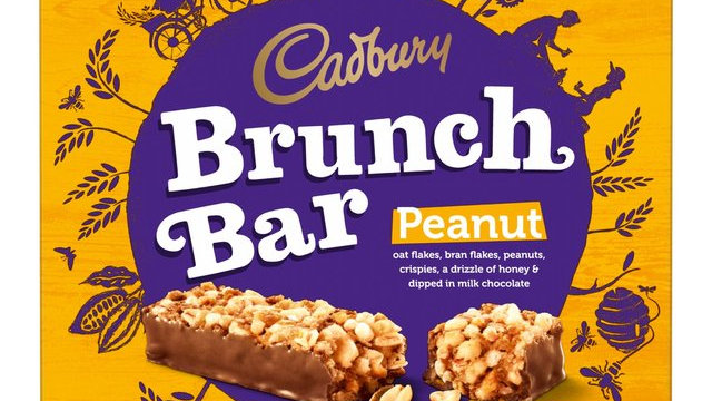 Cadbury Brunch Bar Peanut Multipack 6pk