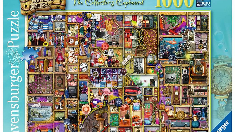 Ravensburger Jigsaw Puzzle 1000 Piece - The Curious Cupboard No6