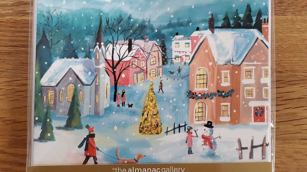 Almanac Gallery Charity Christmas Cards 8 Pack - The Night Before Christmas