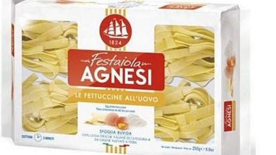 Agnesi Pasta Fettuccine All'Uovo (with eggs) 250g