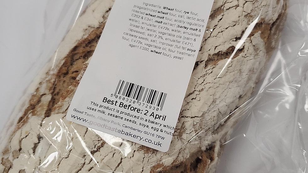 Good Taste Caraway Rye Loaf