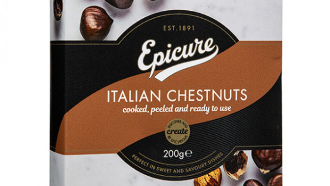 Epicure Italian Chestnuts Cooked & Peeled 200g