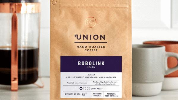 Union Coffee Ground Bobolink 200g