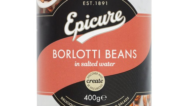 Epicure Borlotti Beans in Salted Water 400g