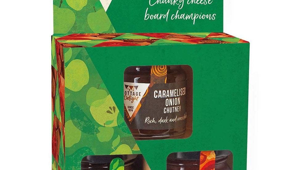 Cottage Delight Fabulous Chutney Favourites Minis Gift Pack