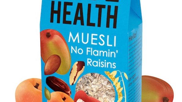 Rude Health No Flamin Raisins Muesli 500g