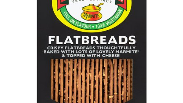 Fudges Marmite Flavour Flatbreads 140g