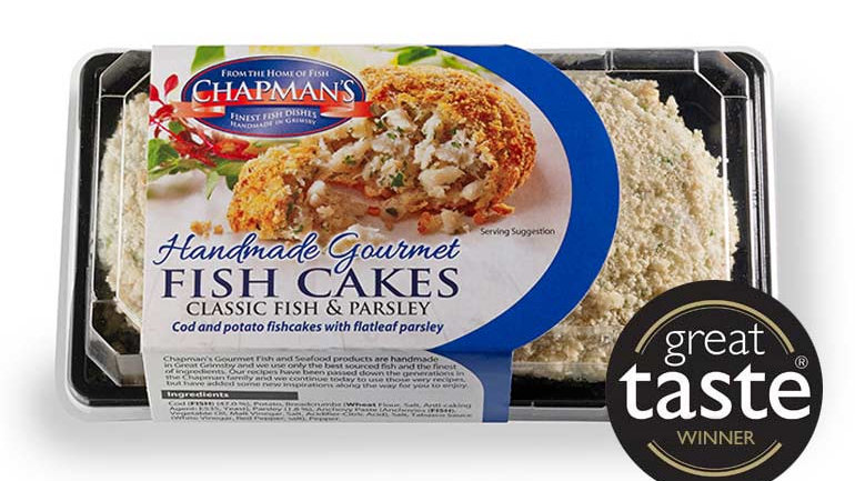 Chapman Classic Fish & Parsley Fishcakes