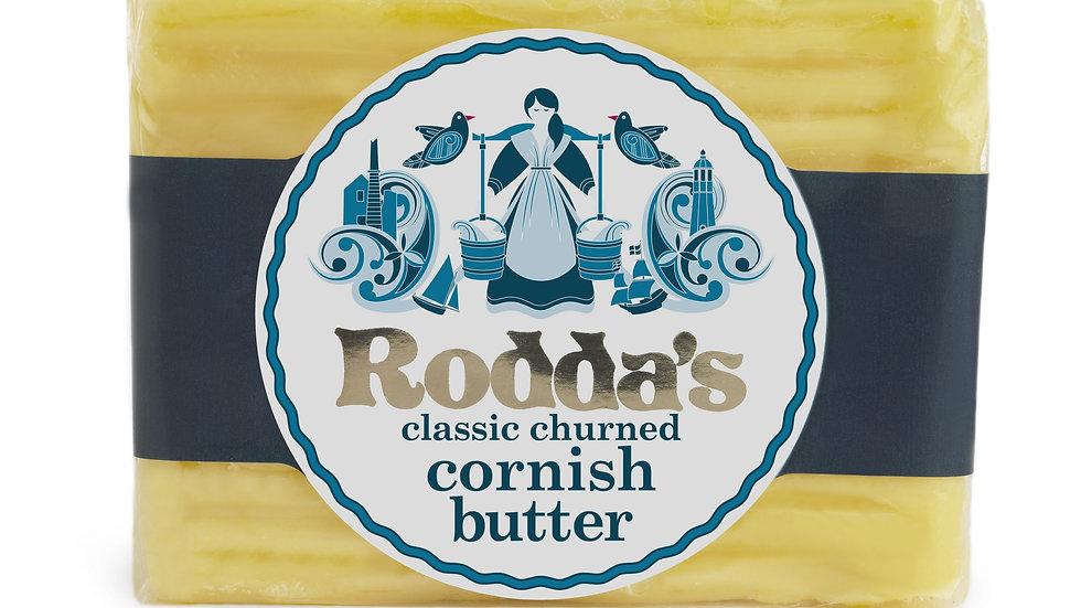 Rodda's Hand Churned Cornish Butter 200g