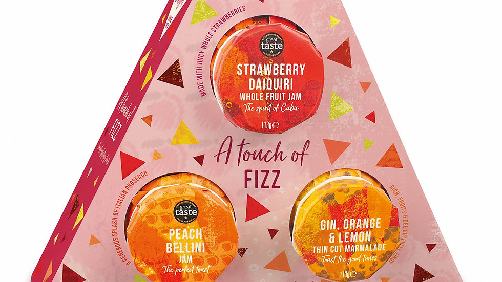 Cottage Delight Touch Of Fizz Trio Gift Pack