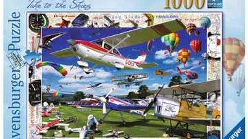 Ravensburger Jigsaw Puzzle 1000 Piece - Take to The Skies