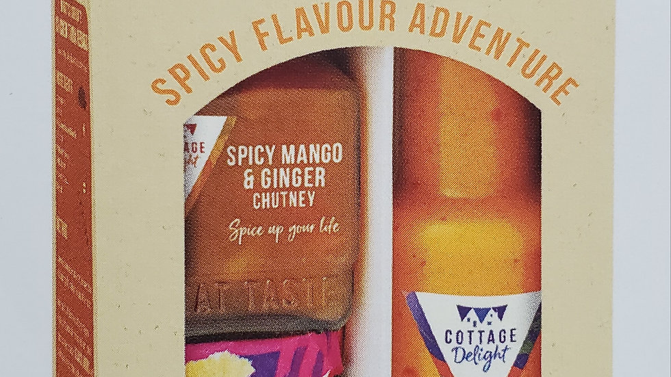 Cottage Delight Indian Spicy Flavour Adventure Gift Pack