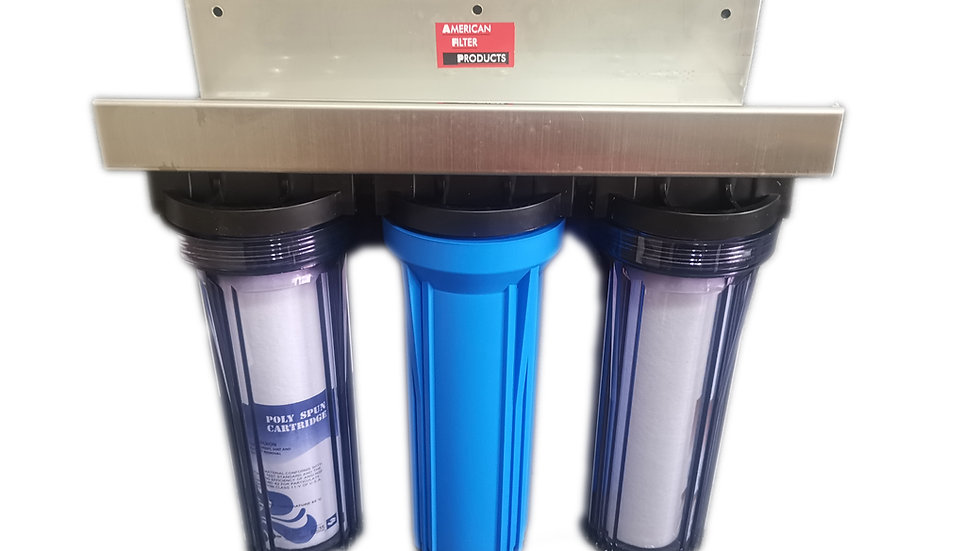 American Filter Products AFP103 - Water Purifier (2 x Sediment Filter + Activate