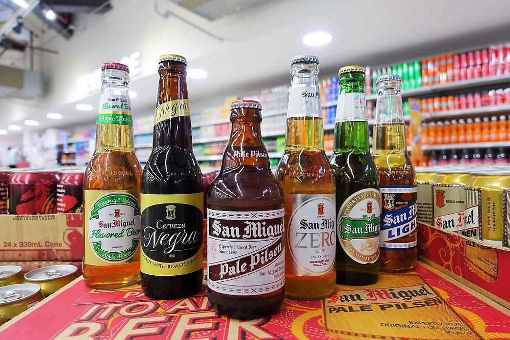 フィリピン サンミゲルビール