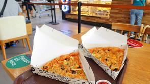 【陣中飯】隔離中も備えあれば憂いなし、特大ピザを冷凍保存しておこう!