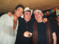 Con Gady Pampillon y tio Luis