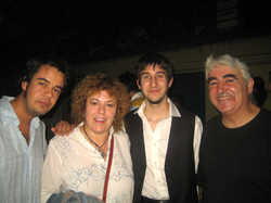 Con David GIorcelli, Big Mama y Bernat Font